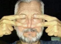 Йоговское упражнение для улучшения зрения, слуха и нормализации давления