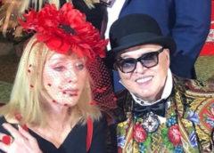 Алла Пугачева в яркой шляпке поздравила Вячеслава Зайцева с днем рождения: певицу поддели за перебор с пластикой